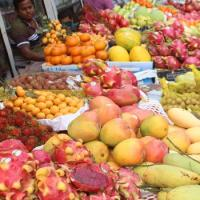 Ramadan fruits in abundance